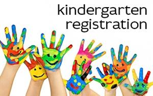 Kindergarten registration logo