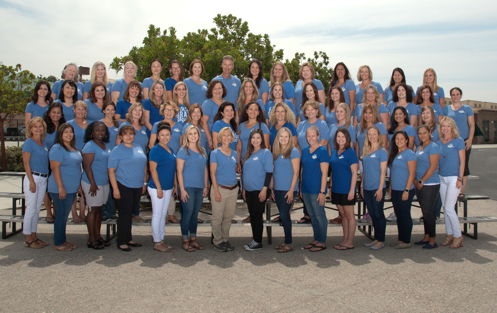Joli Ann staff photo for the 2018-2019 school year